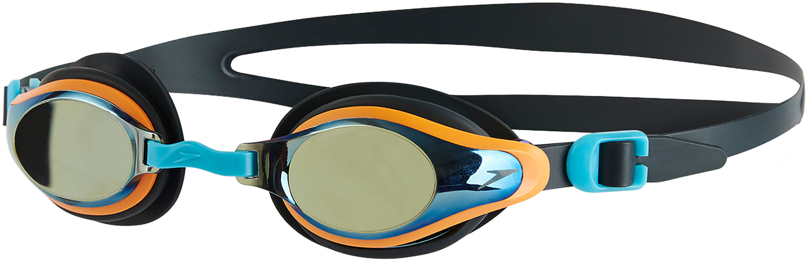 speedo Mariner Supreme Mirror Simglasögon Barn grå orange - till ... cbeefb3455898